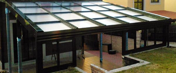 RS Cerramientos: Cortinas de cristal y techos móviles en Galicia ...